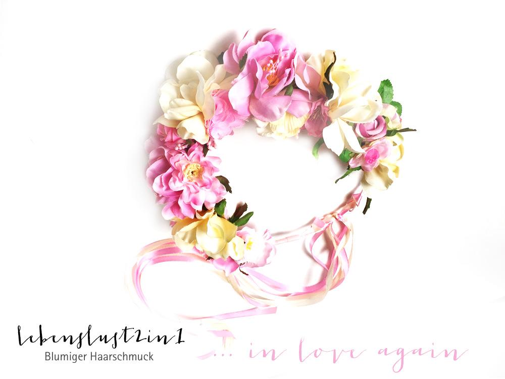 Blumenkranz von Lebenslust2in1 aus der Kollektion *in Love again*