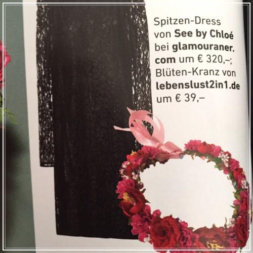 Lebenslust2in1 Blumenkranz in der Presse