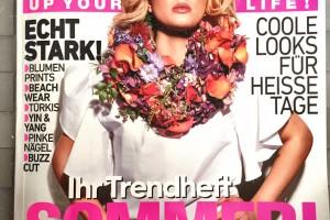 Lebenslust2in1 blumiger Haarschmucken der Presse hier: Style up your Life _ Trendheft Österreich